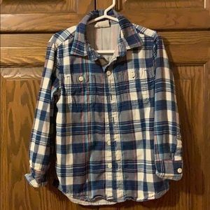 Crazy 8 XS (4) long sleeve button down